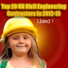 Top 20 UK Civil Engineering Contractors in 2012-13