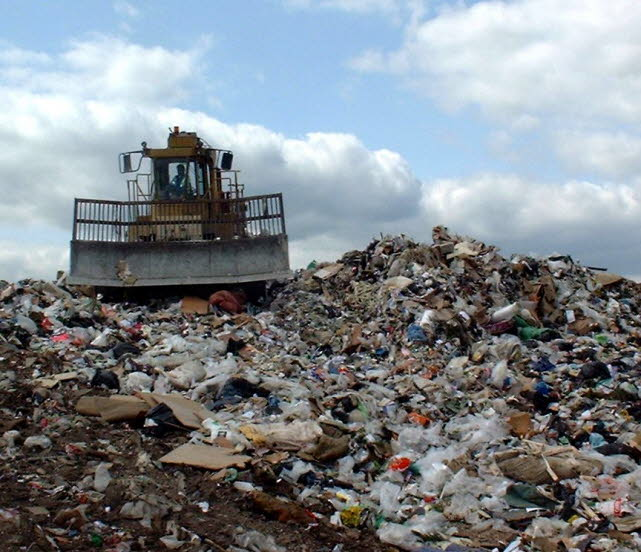 Landfill Compactors Garbage Pictures : Portfolio of landfill pictures