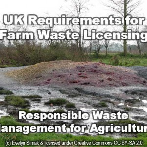 Farming Waste needs management
